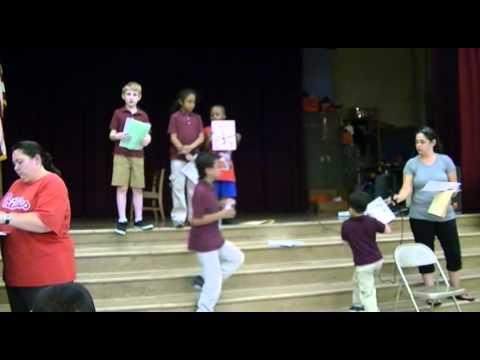 Stephen Girard Elementary School 2nd Grade Academics Award Ceremony 6/17/13