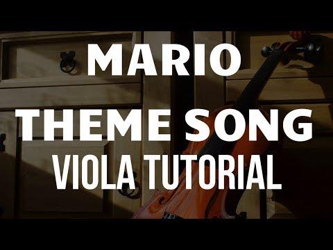 Viola Tutorial: Mario Theme Song
