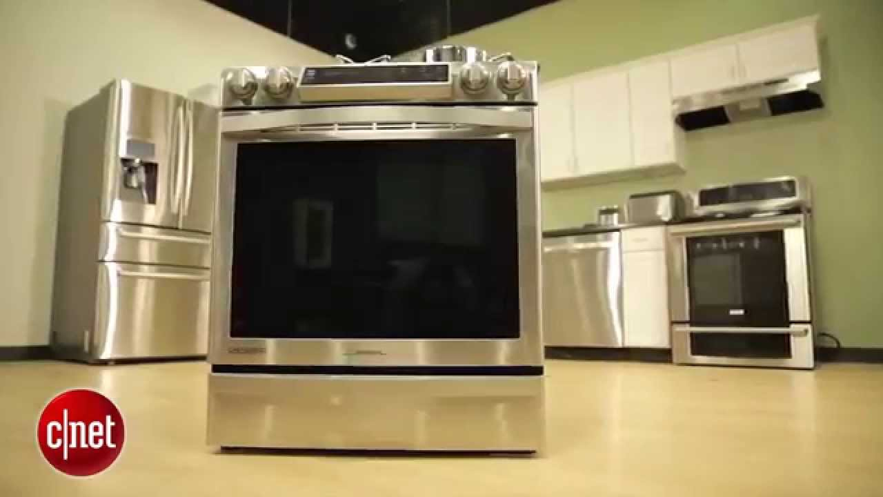 SAMSUNG Slide In Induction Range   Review   YouTube