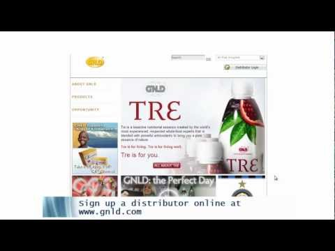 GNLD International | How to sign up a new distributor online