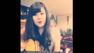 Chiếc khăn gió ấm guitar ( cover ) - Cheshi Lai