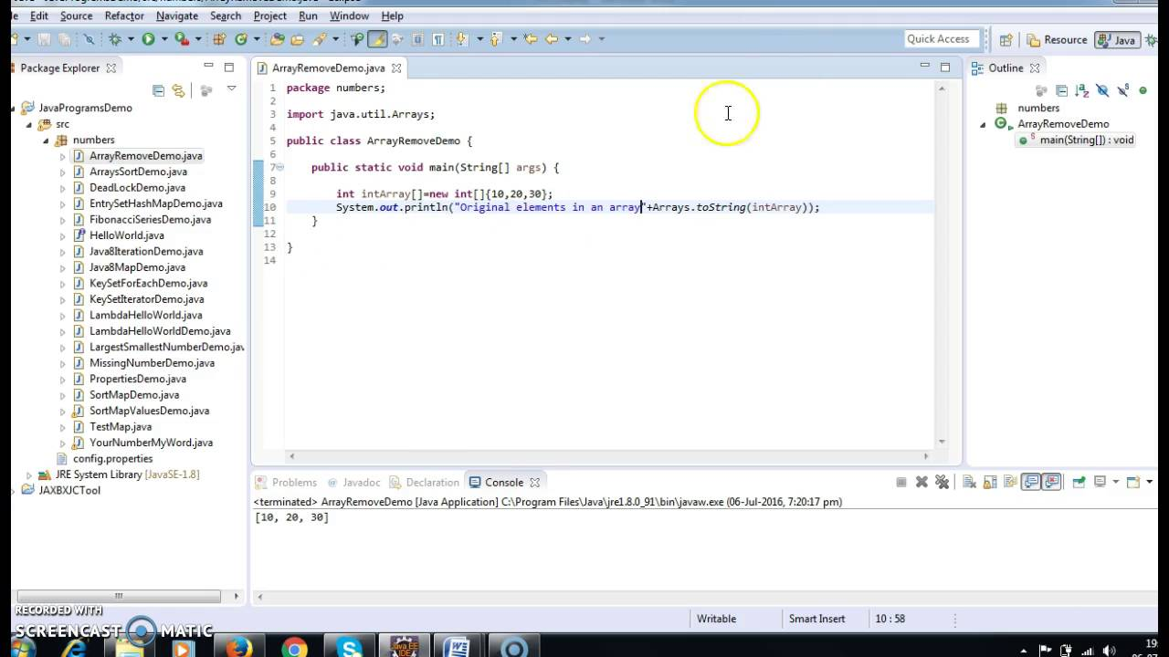 how to delete an element from array in java youtube rh youtube com how to remove java from mac how to remove java from mac