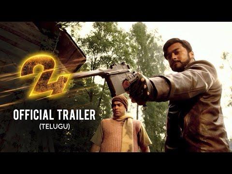 24 Official Trailer- Telugu | Suriya | Samantha | Nithya Menen | AR | Vikram K Kumar