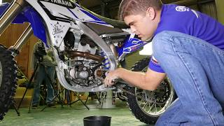 Yamaha YZ250F Genuine Accessories Feature