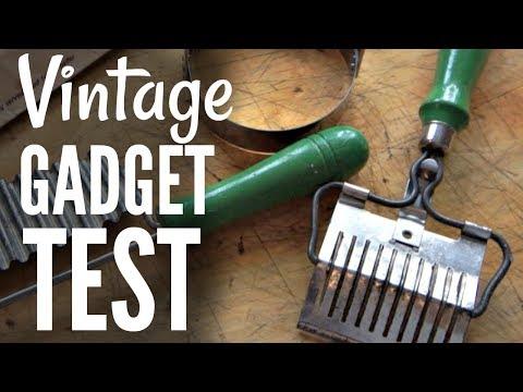 Download Youtube: VINTAGE Kitchen GADGET Test #3 - Do They Work?
