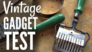 VINTAGE Kitchen GADGET Test #3 - Do They Work?