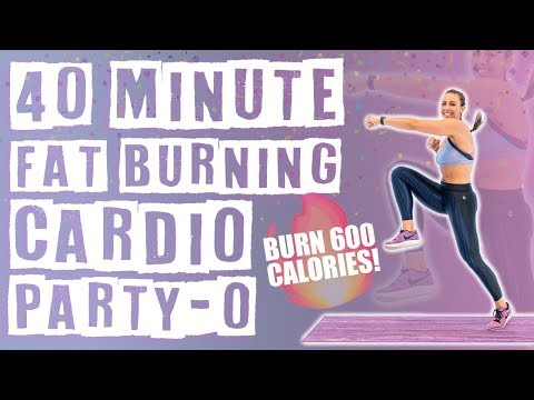 40-minute-fat-burning-cardio-party-o-workout-|-no-equipment-needed-🔥burn-600-calories!-🔥