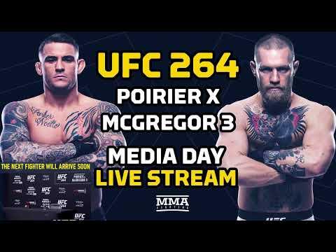 UFC 264: Poirier vs McGregor 3 Media Day