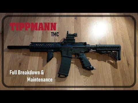 Tippmann TMC - Maintenance/ Full Breakdown