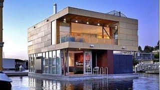 Плавающий дом в Сиэтле штат Вашингтон(http://www.bakler.net/ - Недвижимость в Вашингтоне. Недвижимость в Сиэтле. Компания Vandeventer в сотрудничестве с Carlander..., 2012-11-12T02:03:35.000Z)