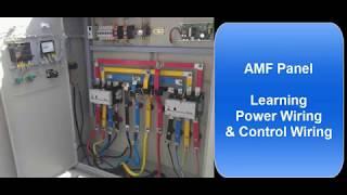 [FPWZ_2684]  AMF Panel Wiring - YouTube   Dg Panel Wiring Diagram      YouTube
