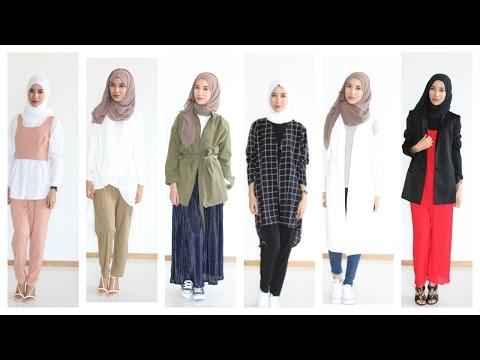 Hijab Lookbook casual chic