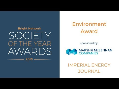 Imperial Energy Journal - Bright Network Environment Award