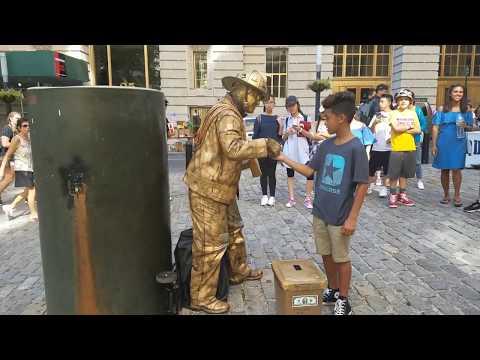 GoldMan acts on Wall Street, New York City