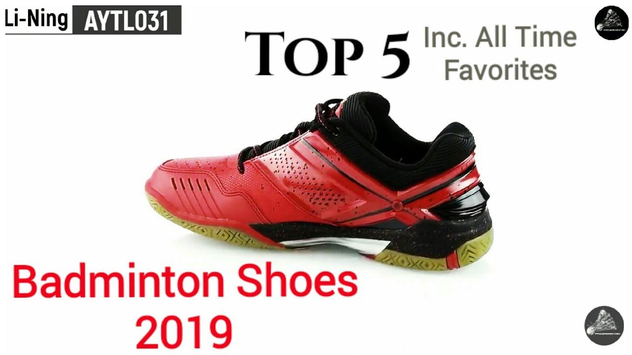 5 Badminton Shoes 2019 [Pro Badminton