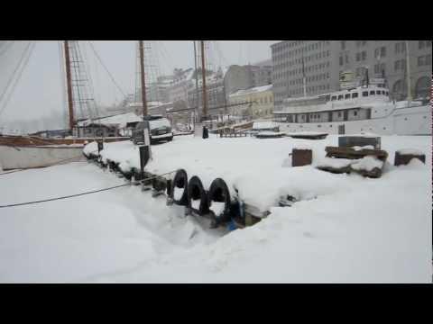 Winter In Helsinki Finland - February 19, 2012