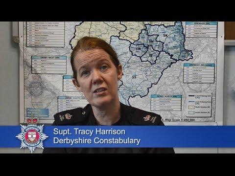 Senior Derbyshire police officer asks for public's help in celebrating outstanding
