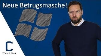 Achtung neue Betrugsmasche: Der Microsoft Support Anruf– CYBERDYNE