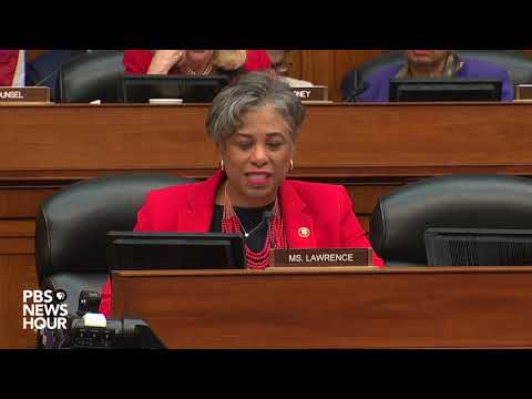 WATCH: Rep. Lawrence says Meadows' defense of Trump against racism claims is 'totally insulting'