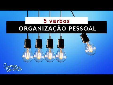Organização Pessoal e os 5 verbos criativos da Edel!