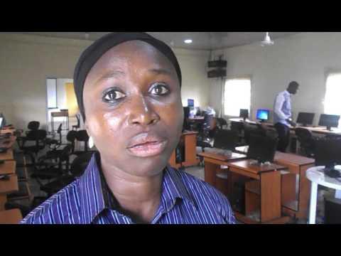 Mrs  Nusirat Atoyebi sharing her experience on Girls In ICT