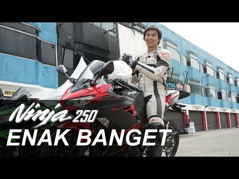 Nyobain Kawasaki Ninja 250 2018 Baru ft Jonathan Rea & Indomotovlogger