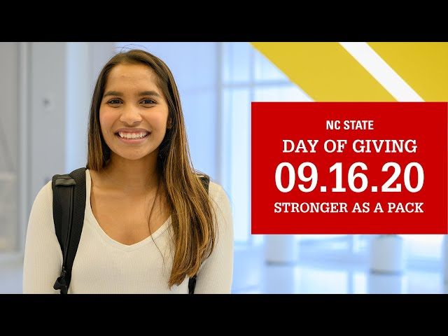 Day of Giving 2020 - Stronger as a Pack