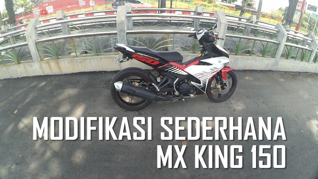 [14] Modifikasi Motor MX KING 150