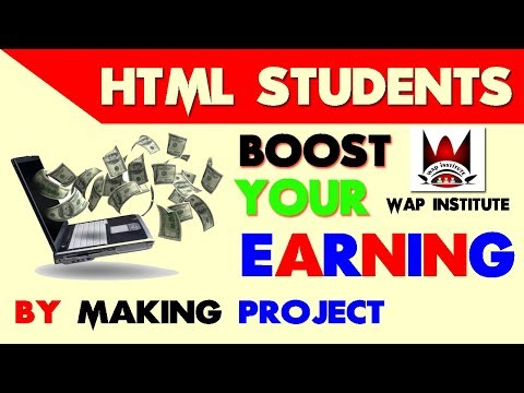golden opportunities for html students hosted by wap institute powered by sweetu`s media