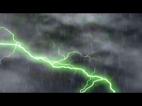 After Effect CS 4 - Effect Petir hujan & angin 720p ( HD)