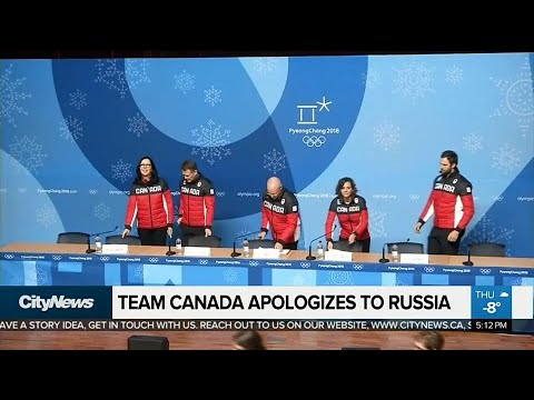 Team Canada apologizes to Russia for 'cafeteria incident'
