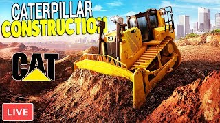 NEW BUILDING PROJECTS & BASE EXPANSIONS | CAT Equipment & More | Construction Simulator 2 Gameplay