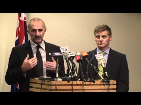 Press Conference on the Christchurch Earthquake
