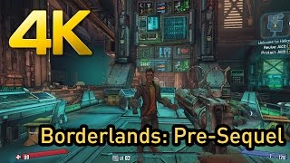 Borderlands: The Pre-Sequel 4K Ultra Gameplay on PC