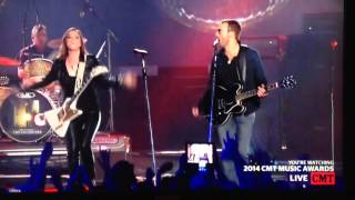 eric church featuring lzzy hale thats damn rock and roll c