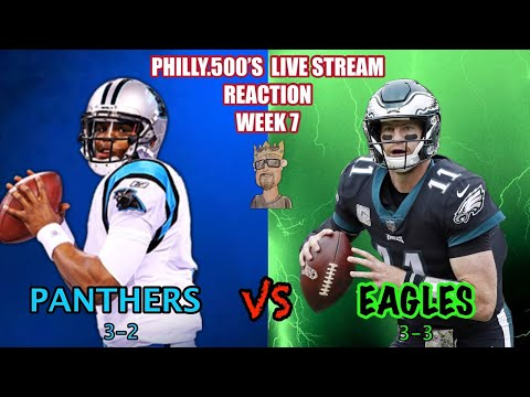 Panthers vs Eagles Live Reaction