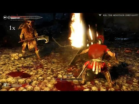 Ryse Son of Rome - Kill the Minotaur Chief Glott