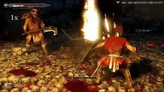 Ryse Son of Rome - Kill the Minotaur Chief Glott
