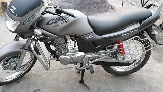 Hero Honda CBZ Gun Metal Epic Model Design.(This bike is sell contact 9848158525)