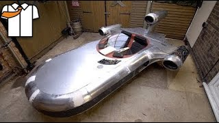 Download Fabricating a Metal Landspeeder that DRIVES Mp3 and Videos
