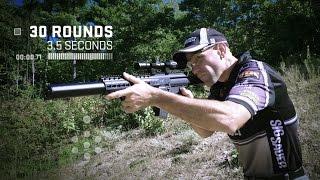 Video: Sig Sauer MPX ilmakivääri 4,5mm hiekka, red dot sig 20R