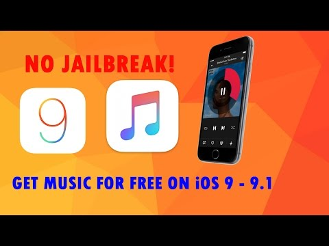 How To Get Music For Free on iOS 9 -9.3 Without Jailbreak.