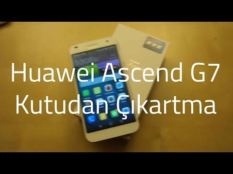 Huawei Ascend G7 Kutusundan Çıkıyor
