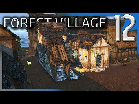 SMOOTHING TERRAFORMING, CASTLE SMITHY & MARKET!   Life is Feudal: Forest Village Modded S2E12