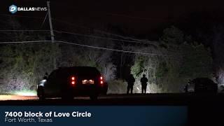 Fort Worth standoff ends with burglary suspect under arrest