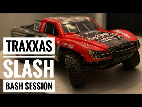 Traxxas Slash Brushless 2x2 BASH Session! - Smith RC Studios
