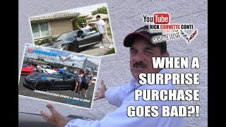 CORVETTE SURPRISE PURCHASE GOES BAD