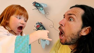 DAD swallowed A FLY!!  Doctor …