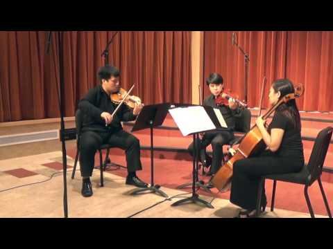MuUyas Chamber Music: Jean Cras Trio Pour Violon, Alto et Violoncelle  Movement II  Lent