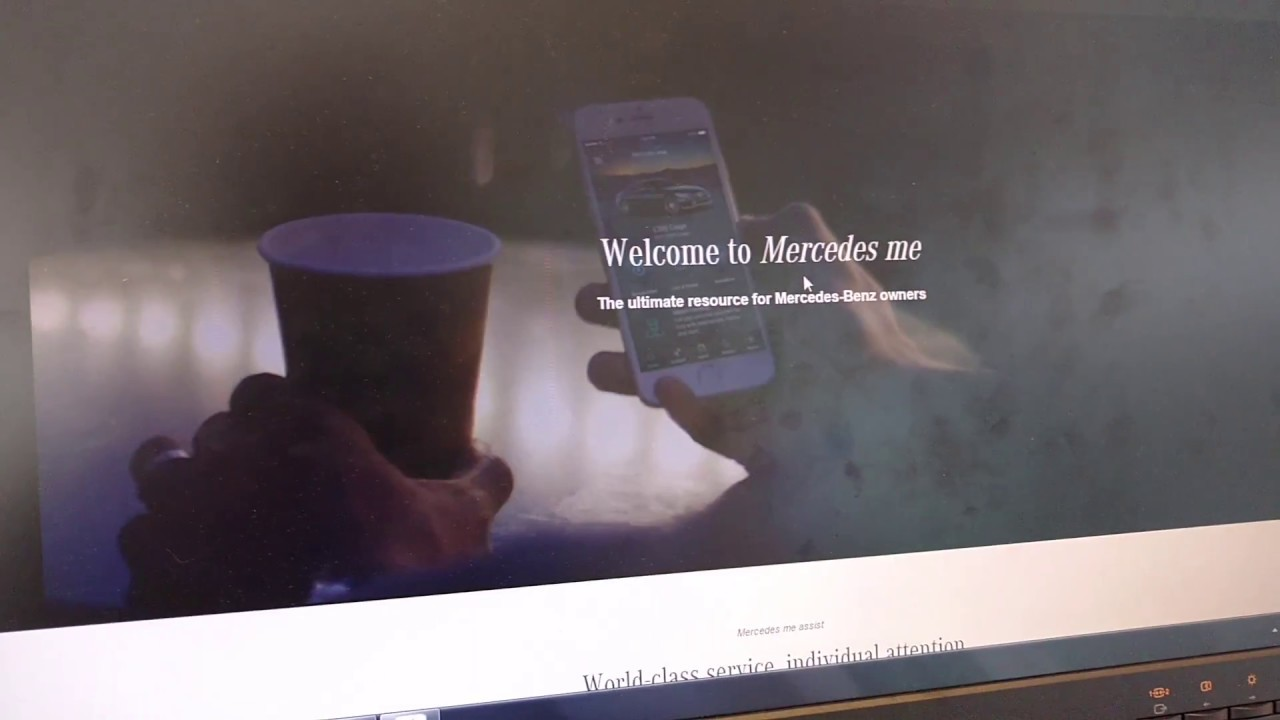 Mercedes Me app set up where to go